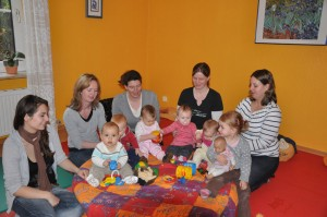 Babymassage November 2010