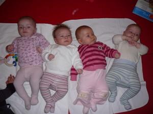 Babymassage Dezember 2008