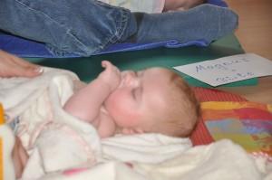 Babymassage Februar 2011