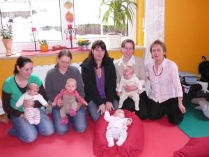 Babymassage Januar 2010