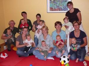 Krabbelgruppe August-September 2009