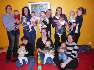 Krabbelgruppe November 2009