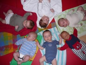 Babymassage Januar 2009